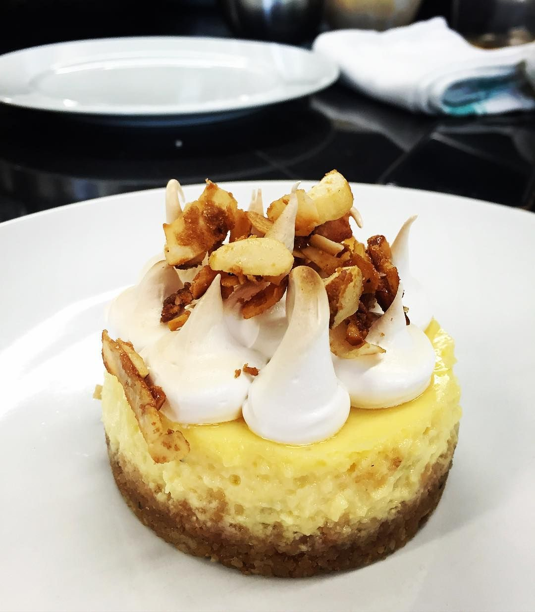 and lime cheesecake with Brazil nuts and coconut. It was a good day.