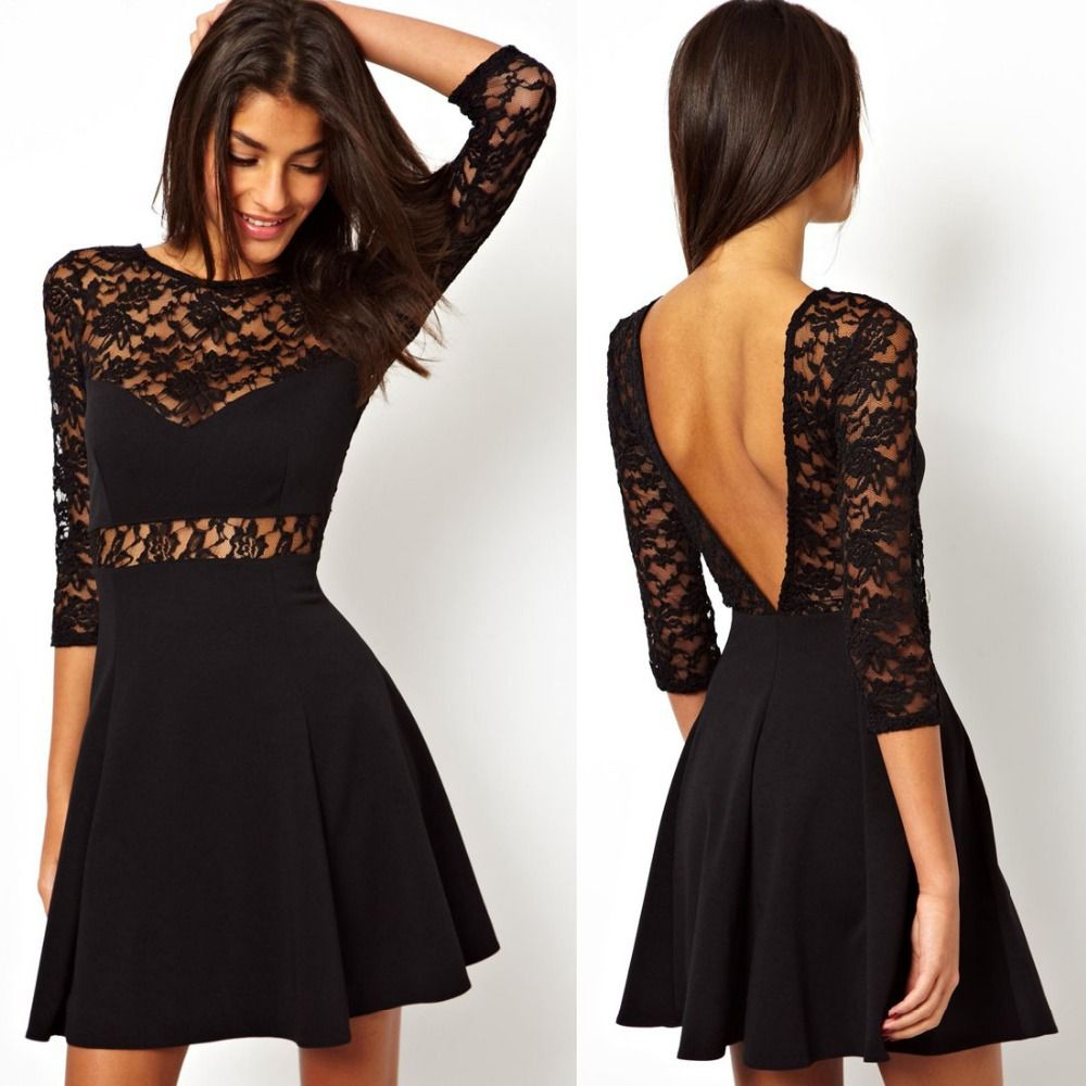 Black Lace Dresses For Women | Clothes | Pinterest
