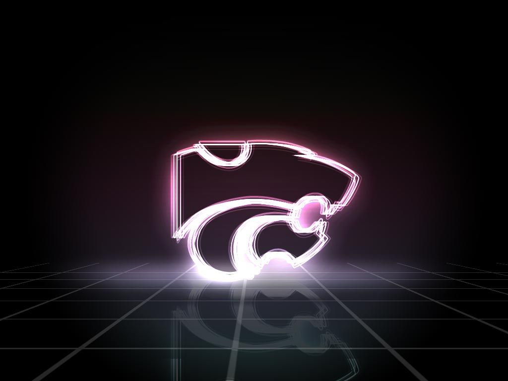 Powercat Glowing Kansas State Wildcats Kansas State Wild Cats