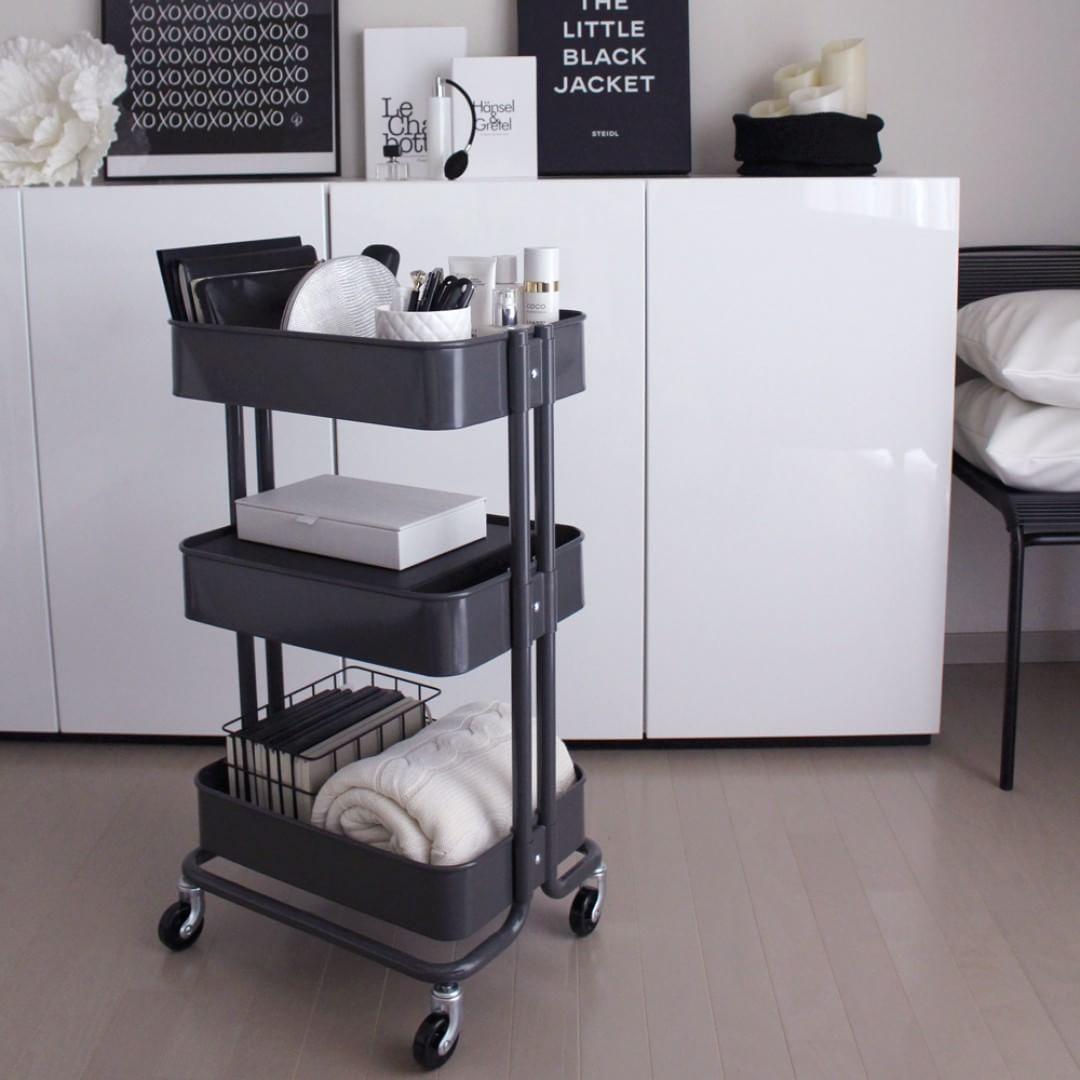 Ikeaのワゴン Raskog がスゴイ おすすめ活用法を大公開