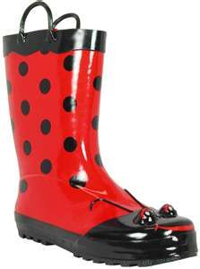 f14051c80ef Western Chief Women's Ladybug Rain Boots $39.95 | Luck be a lady ...