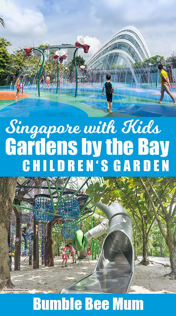 childrens garden gardens by the bay singapore bumble bee mum - Garden By The Bay Water Park