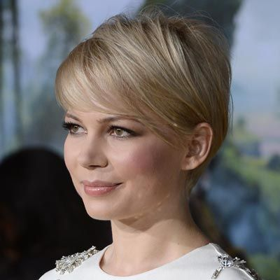 Michelle Williams in a pixie that flatters everyone ...