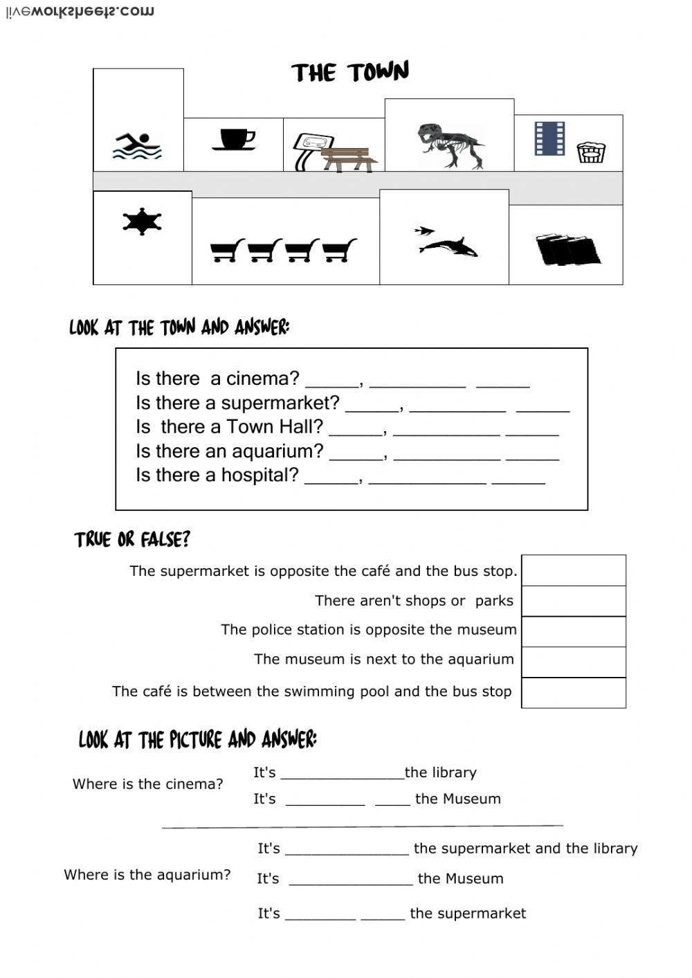 There Is There Are Interactive And Downloadable Worksheet You Can Do The Exercises Online Or D Worksheets English As A Second Language Esl English Lessons