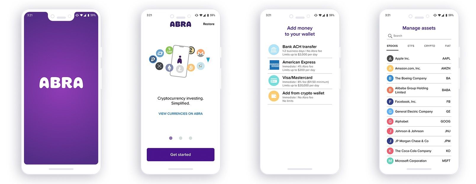 Abras blockchain app to let users make small stock etf