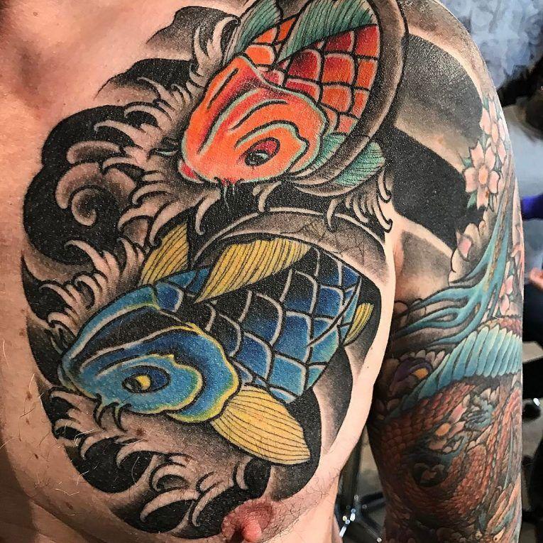 40+ Amazing Koi fish tattoo meaning japanese image ideas