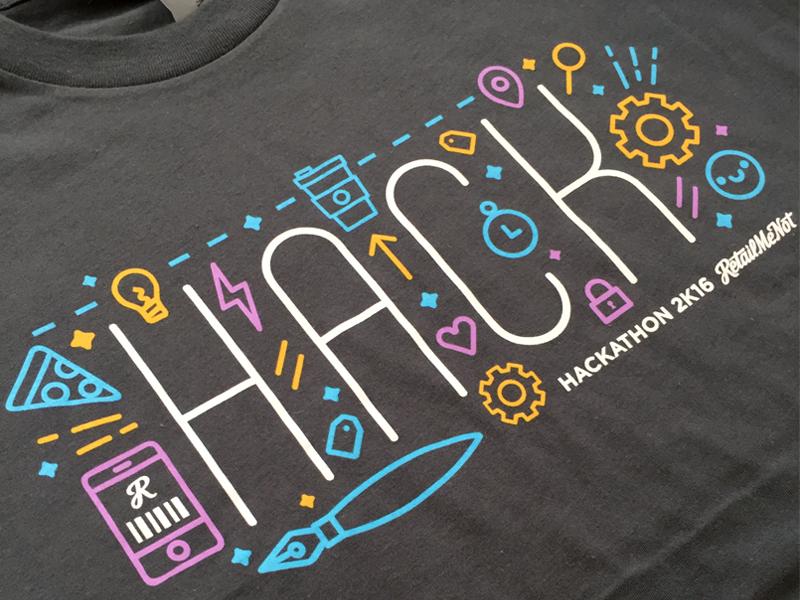 Retailmenot Hackathon Tee Hackathon Hackathon Logo Graphic Design Logo