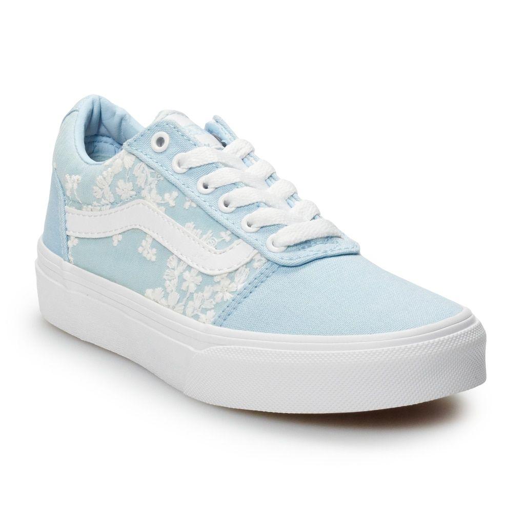 Vans Ward Girls' Flowers Skate Shoes