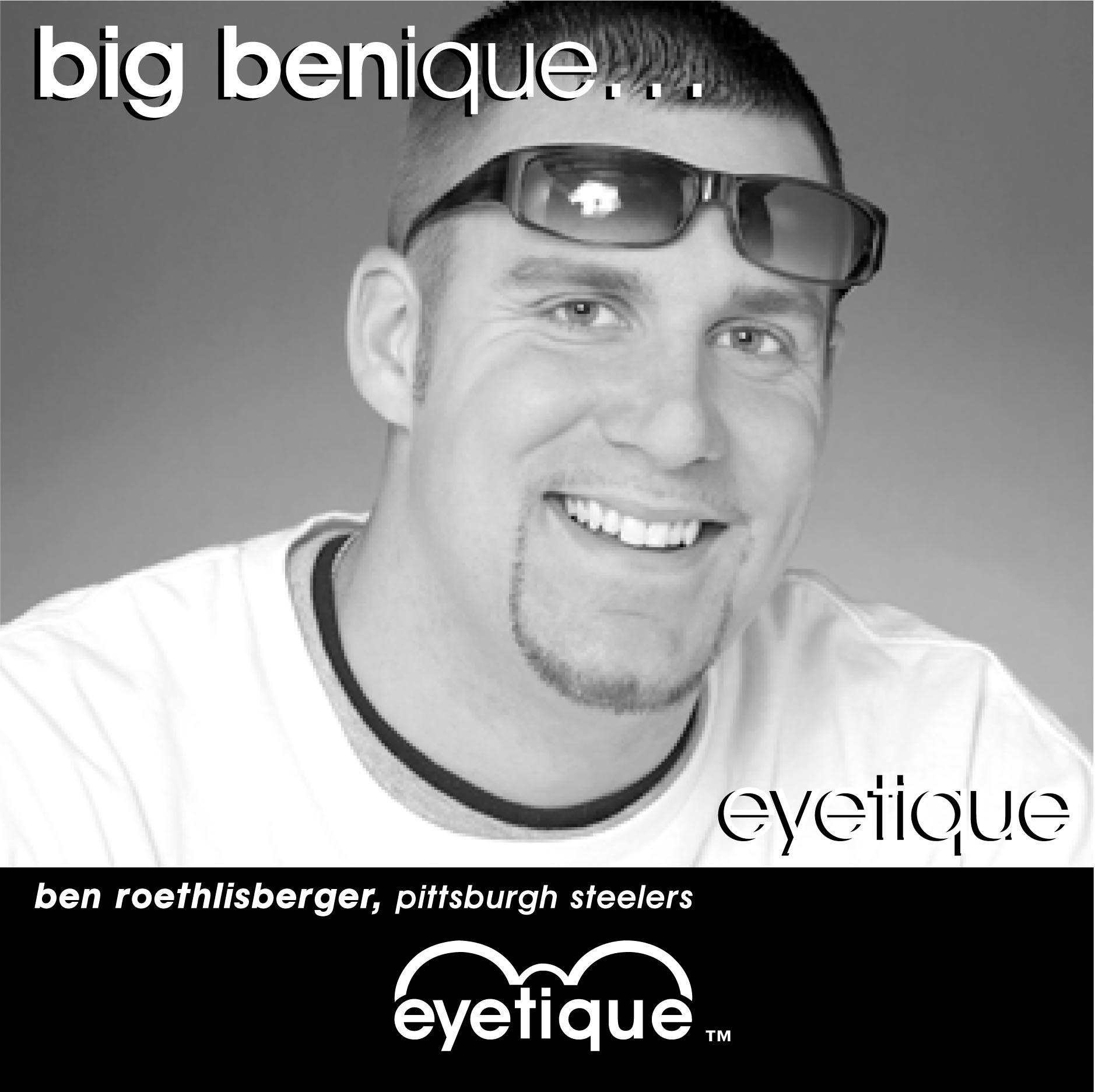 Ben Roethlisberger steelers pittsburgh eyetique