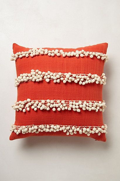 Tassel Trace Pillow By Anthropologie Pom Pom Pillows Add