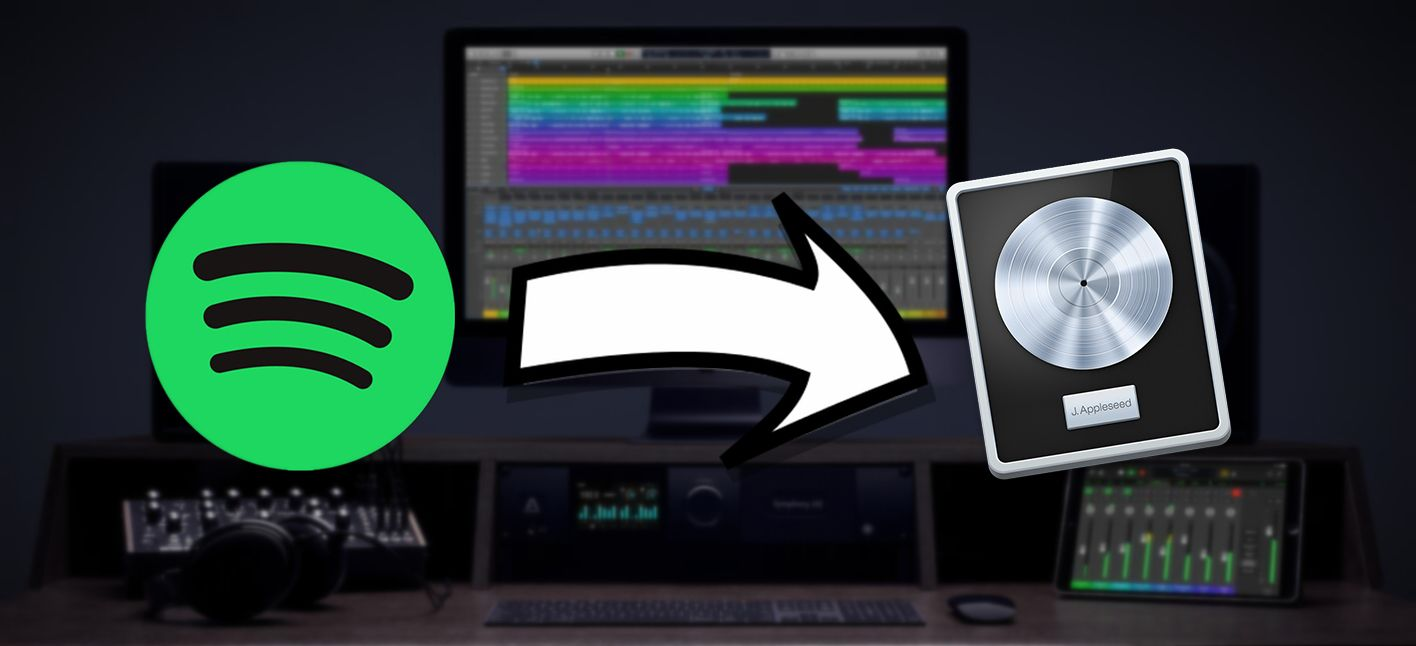 How To Use Spotify Music With Logic Pro X Spotify Music Logic Pro Logic Pro X