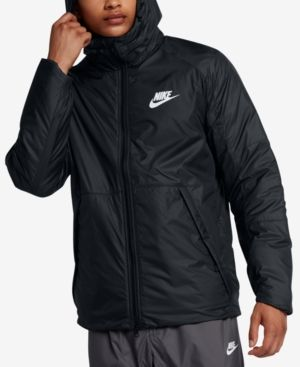5c97920872a5 Nike Men s Sportswear Insulated Rain Jacket - Black 2XL