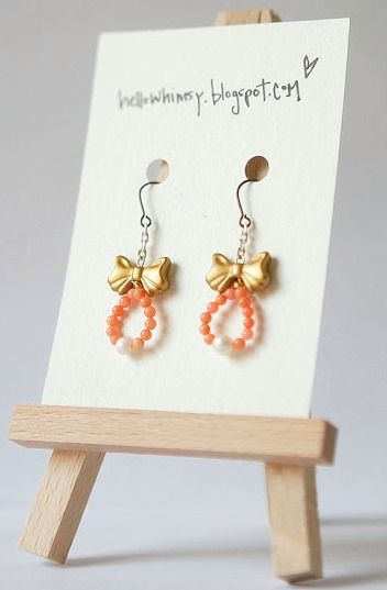 Bows pearls earrings want to do it yourself click on the image bows pearls earrings want to do it yourself click on the image for diy jewelry projectsdiy solutioingenieria Images