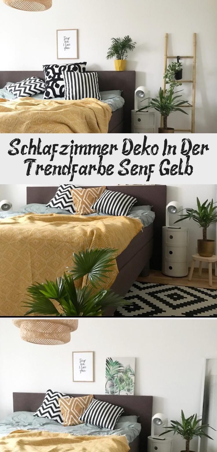 Deko Schlafzimmer Gelb