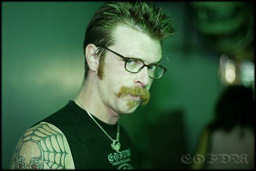 Jesse Hughes Eagles Of Death Metal Death Metal Stache