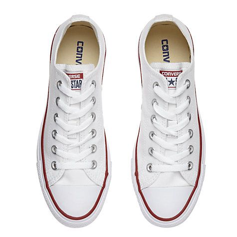 f36a5c68ed92 Buy Converse Chuck Taylor All Star Canvas Ox Low-Top Trainers Online at  johnlewis.