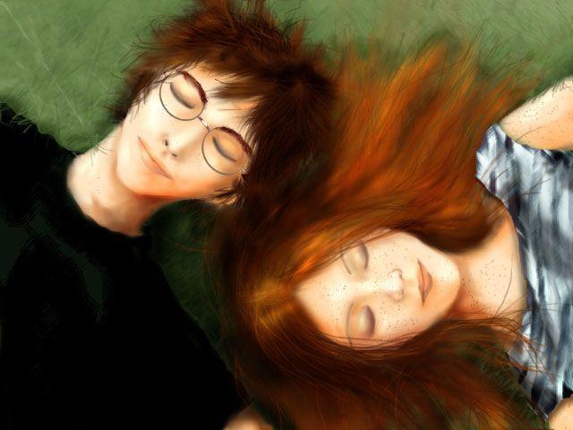Harry And Ginny Fan Art Harry Ginny Fanart Harry And Ginny Harry Potter Ginny Harry Potter Ginny Weasley