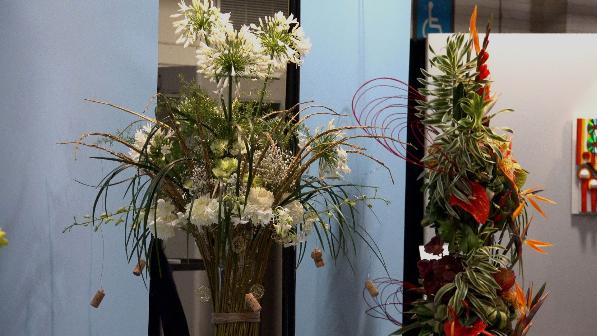 NewCa.com: 2016 Canada Blooms. Toronto Flower Show. International Competition @Canada Blooms. 10 international florists participated in this competition. #canadablooms2016 #canadablooms #flowers #florist #plants  #blossom #bloom #blooms gardening #flowerparty #gardens  #Spring #Bouquet