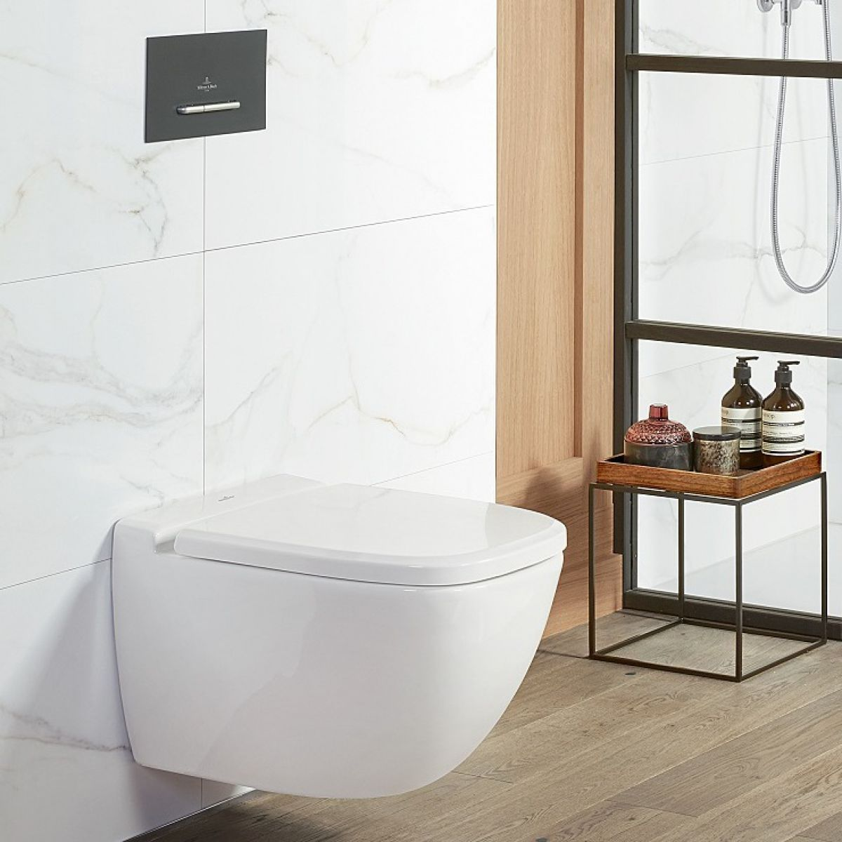Villeroy And Boch Antheus Wall Hung Rimless Wc Guest Bathroom Small Wall Hung Toilet Toilet Installation