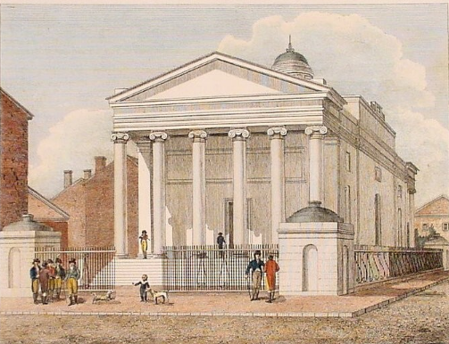 Bank of Pennsylvania by Benjamin Latrobe
