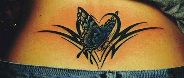 c6e0c97714fdc 60+ Low Back Tattoos for women | Tattoos | Upper back tattoos, Back ...