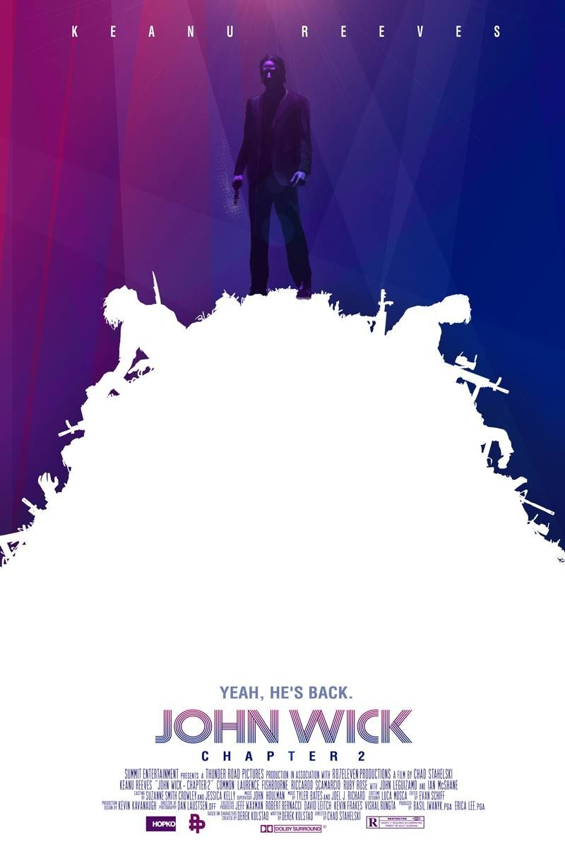 The Poster Posse Fires Off A Few Shots At Lionsgate S John Wick Chapter 2 Poster Posse Alternative Movie Posters John Wick Movie Movie Posters