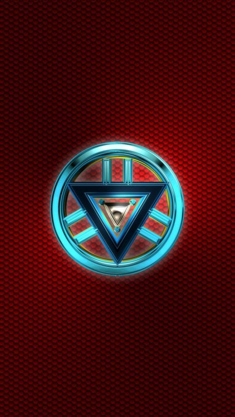 The New Element Arc Reactor Iron Man Iphone Wallpaper