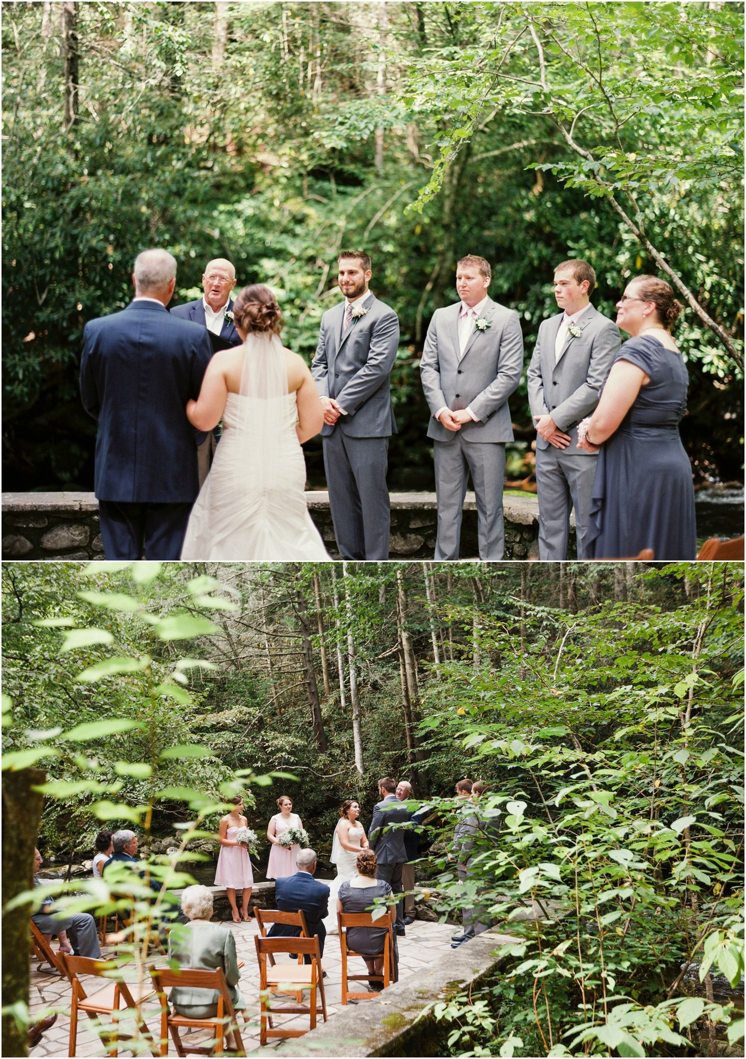Summer Mountain Wedding At Spence Cabin In The Great Smoky