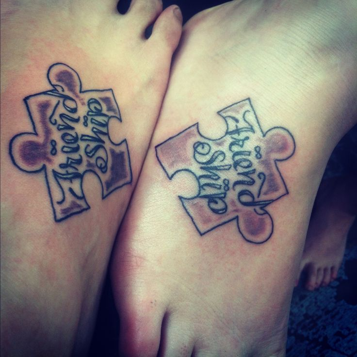 Puzzle Pieces Tattoos On Pinterest