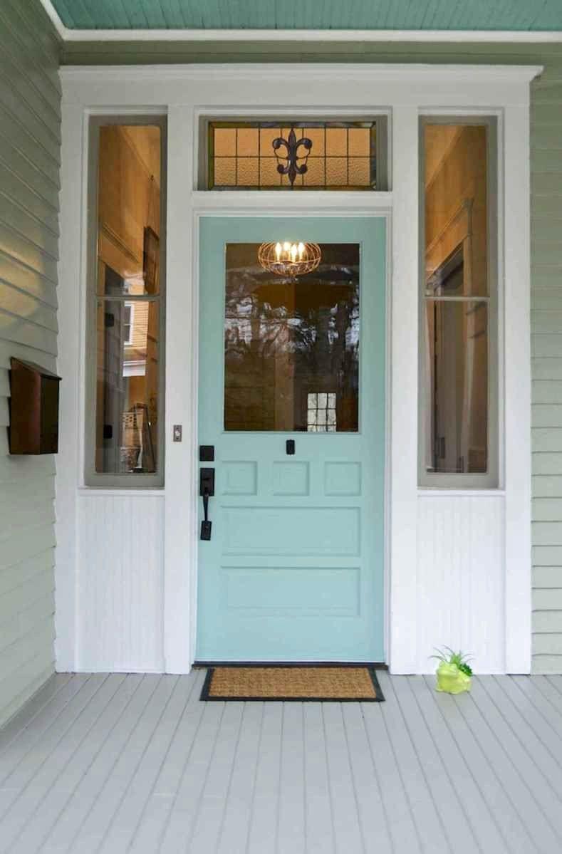 86 Brilliant Front Door Paint Colors Pictures (70) - goexpertdesign.com #victorianfrontdoors