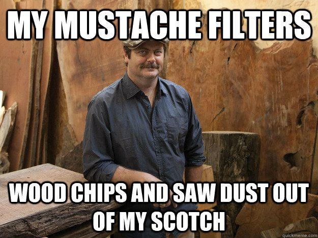 Funny Hiking Meme : Badass ron swanson memes quickmeme ron swanson memes pinterest