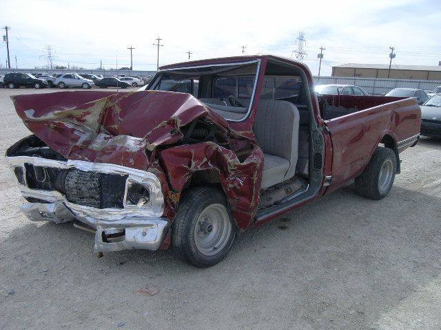 wrecked muscle cars for sale 20