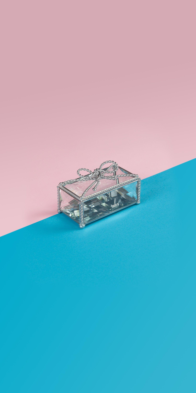 Jewelry box Glass box Ring bearer box Wedding keepsake box Jewelry ...