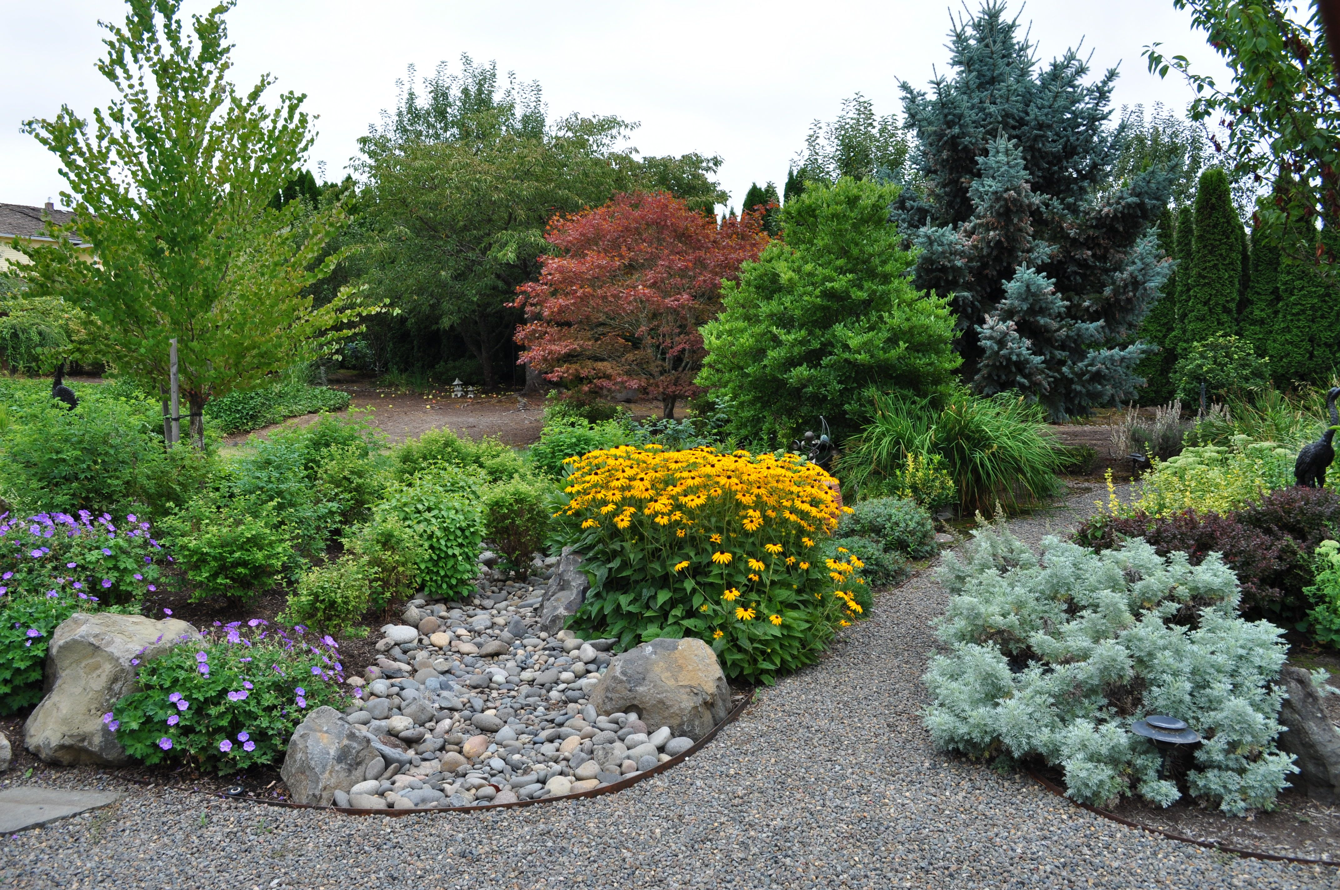 Resource Savings Portland Landscaping Tips From The Professionals Portland Landscaping Company Rain Garden Design Sustainable Landscaping Landscape Design