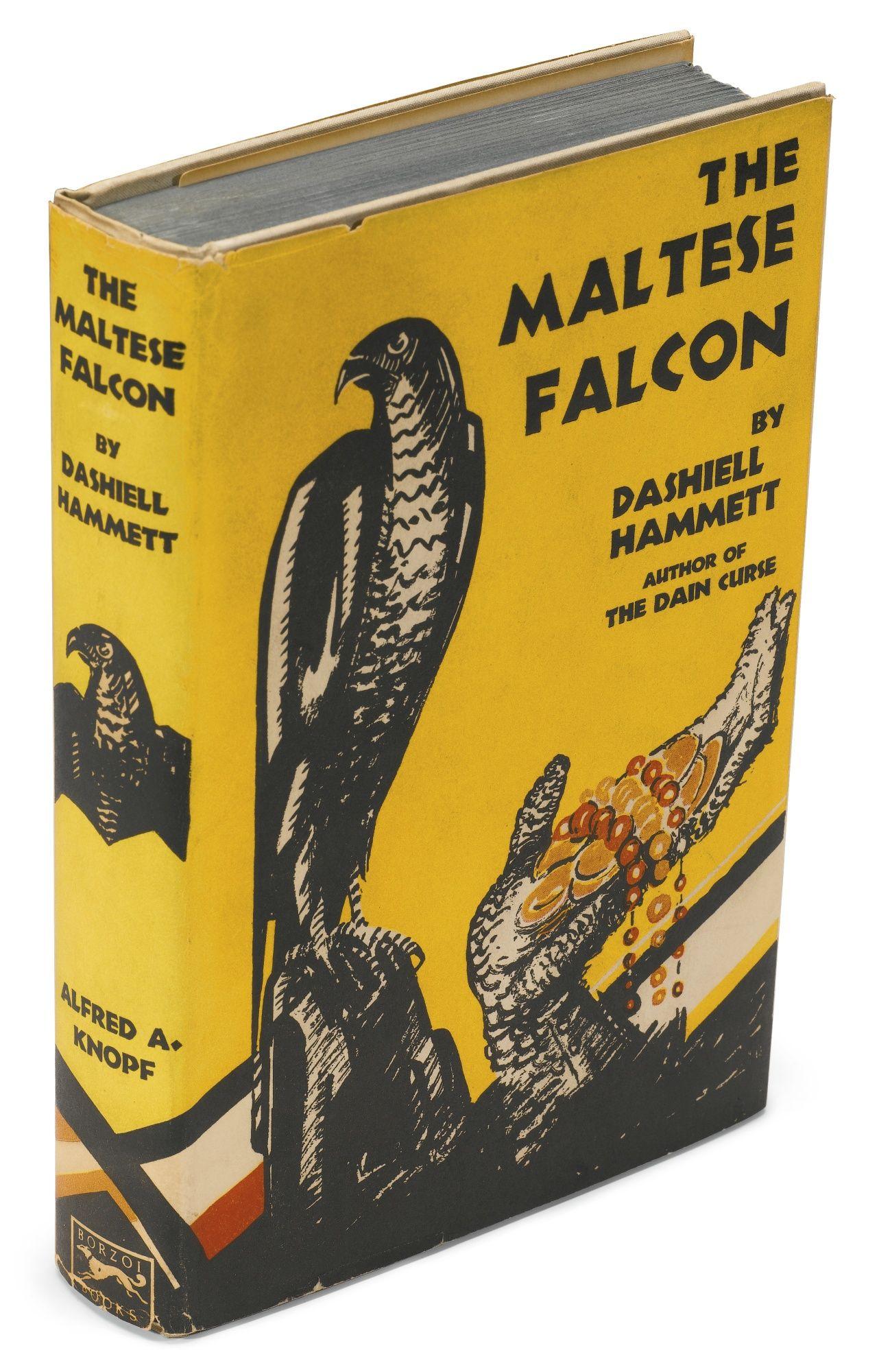 The Maltese Falcon By Dashiell Hammett Dashiell Hammett The Maltese Falcon Book Rare Books