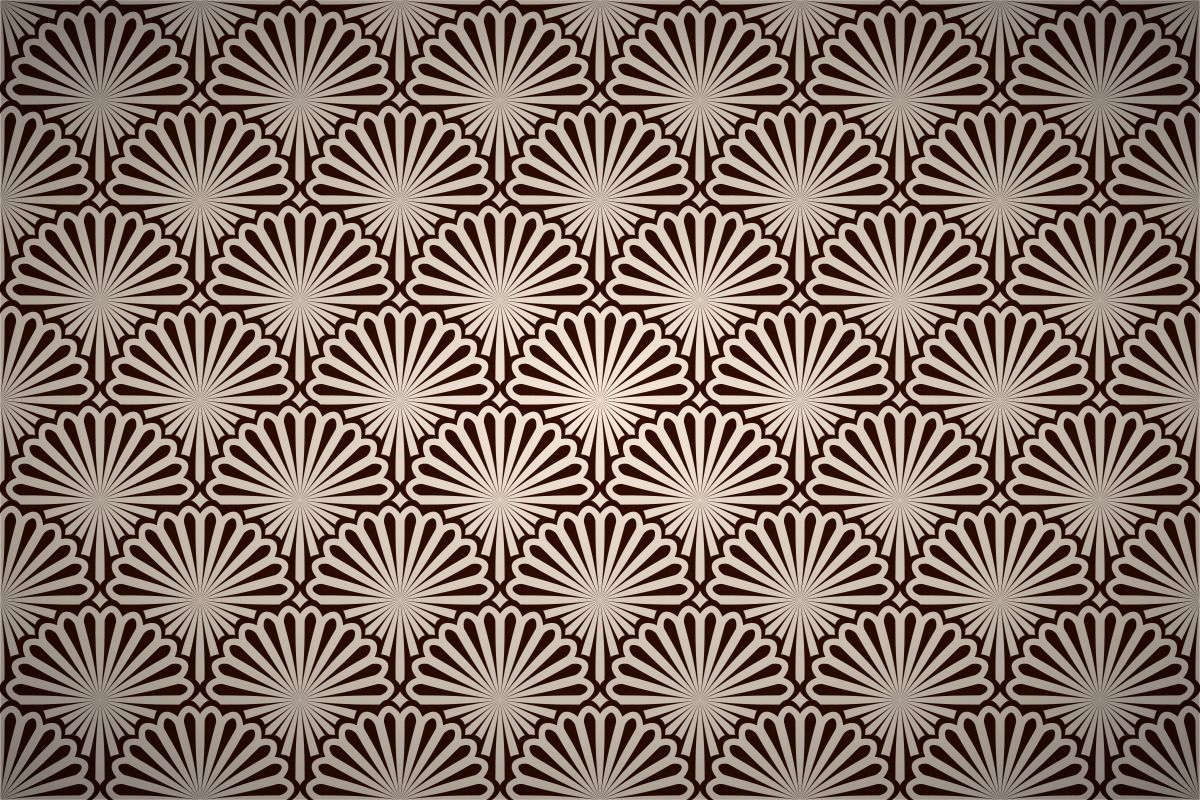 shell_fan_pattern378.jpg (1200×800) Art deco pattern