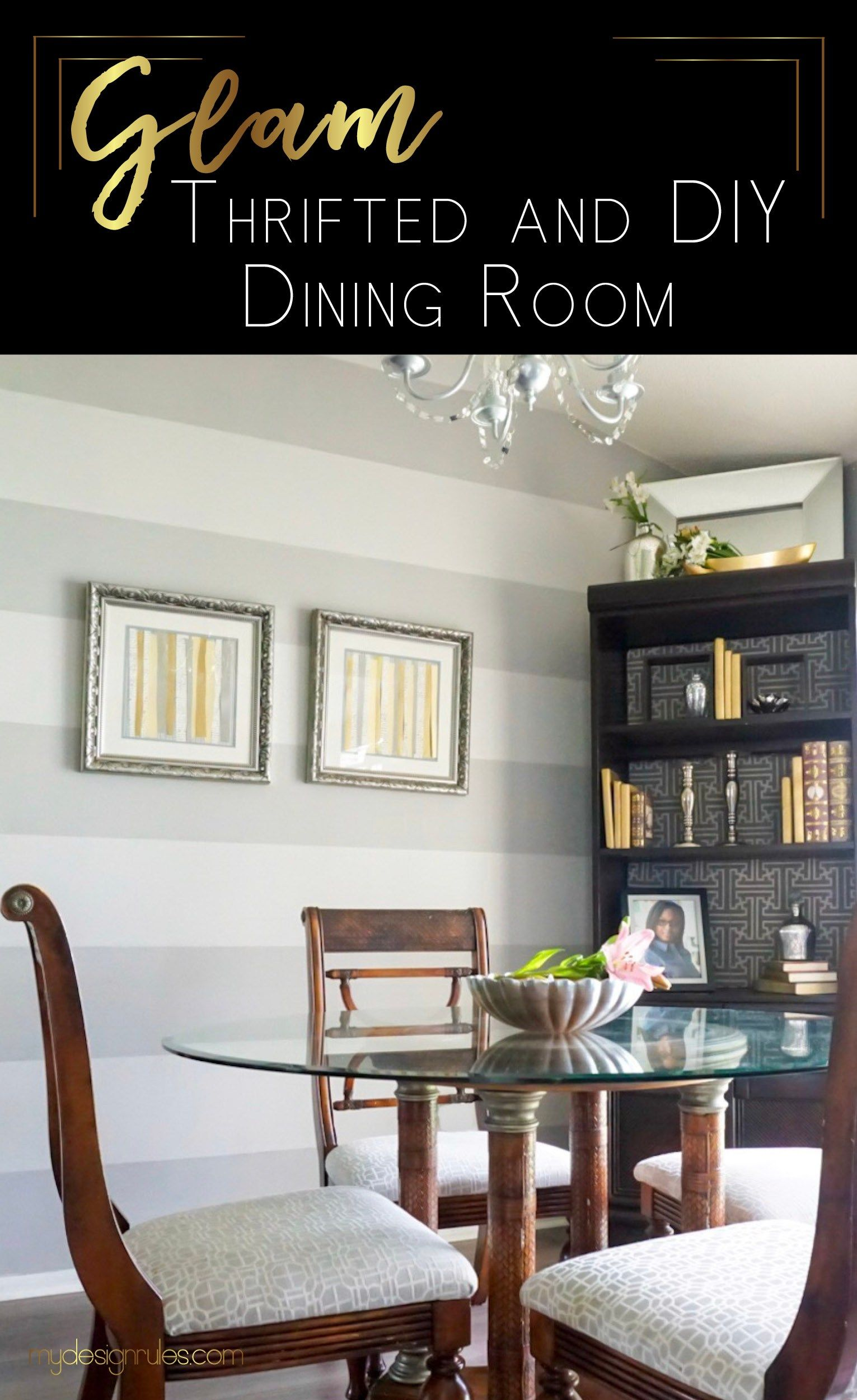 Dining Room Makeover Amusing $200 Budget Dining Room Makeover  Budgeting Room Makeovers And Room Design Inspiration