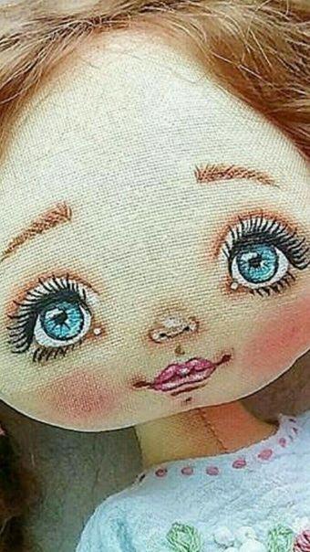 ???? Интерьерные игрушки Машканцевой Ольги ???? #dollfacepainting