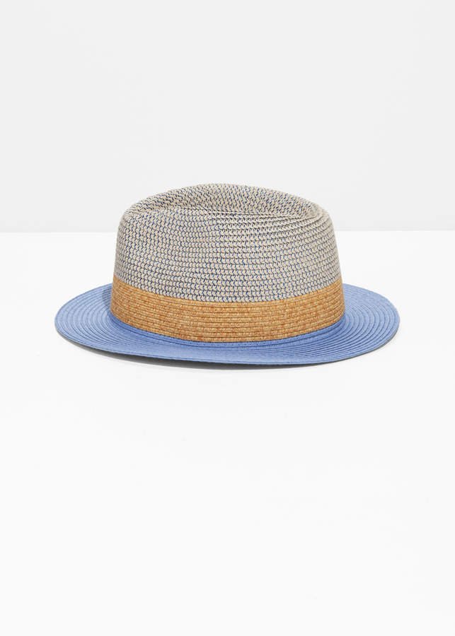 71faf0c56572d5 And other stories Straw Fedora Hat in 2019 | Products | Straw fedora ...
