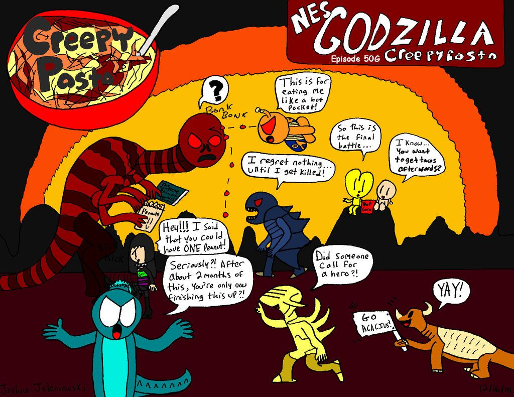 Nes Godzilla Creepypasta It Was Really Neat Seeing Other Actual