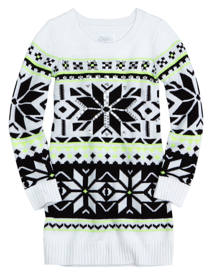 Fair Isle Sweater Tunic | Sweaters | Clothes | Shop Justice ...