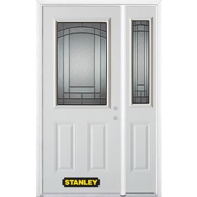 Stanley Doors 50 Inch X 82 Inch 12 Lite 2 Panel Pre Finished