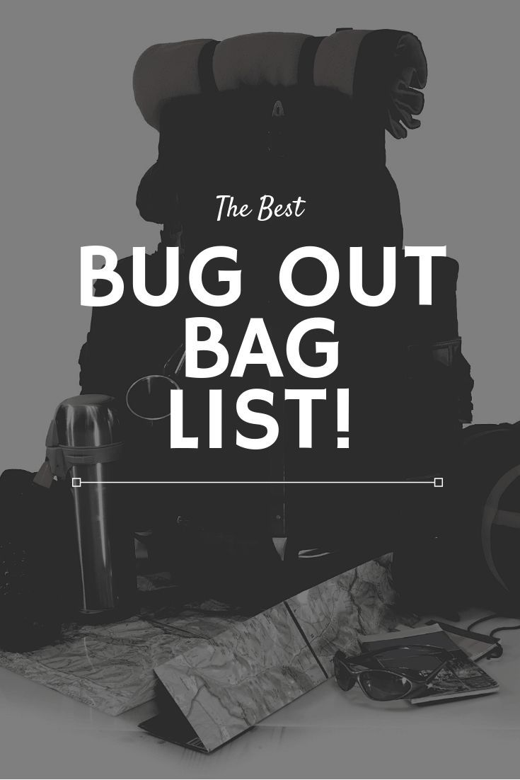 Bug Out Bag List – 2020 Guide and Downloadable Checklist