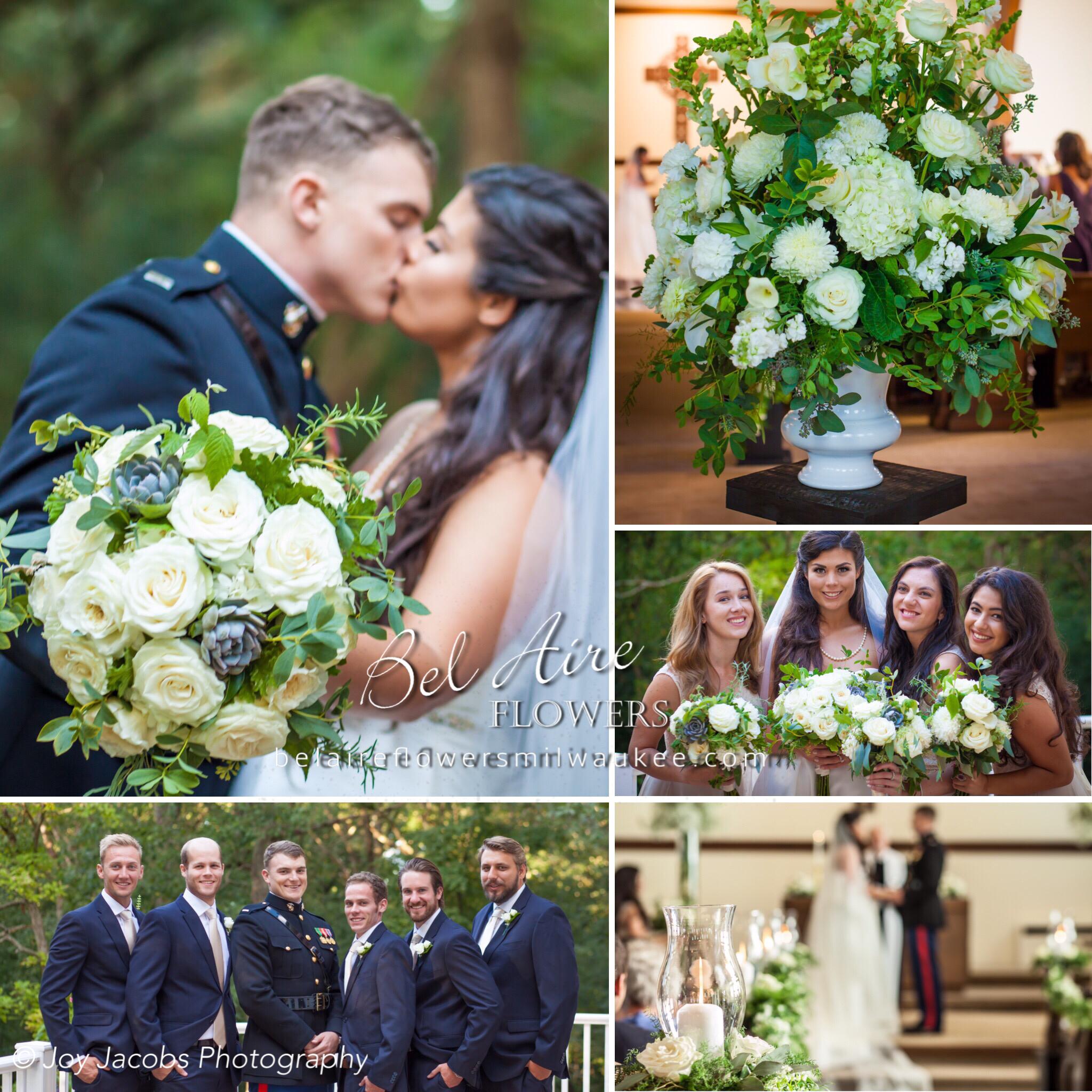 Wedding Altar Flowers With Eucalyptus: Wedding Inspiration, Original