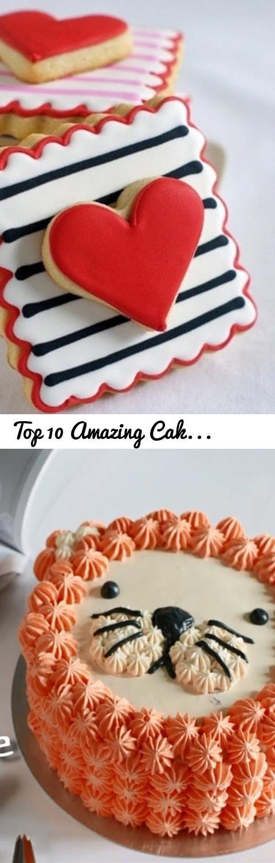 Top 10 Amazing Cake Decorating Tutorials Compilation ...