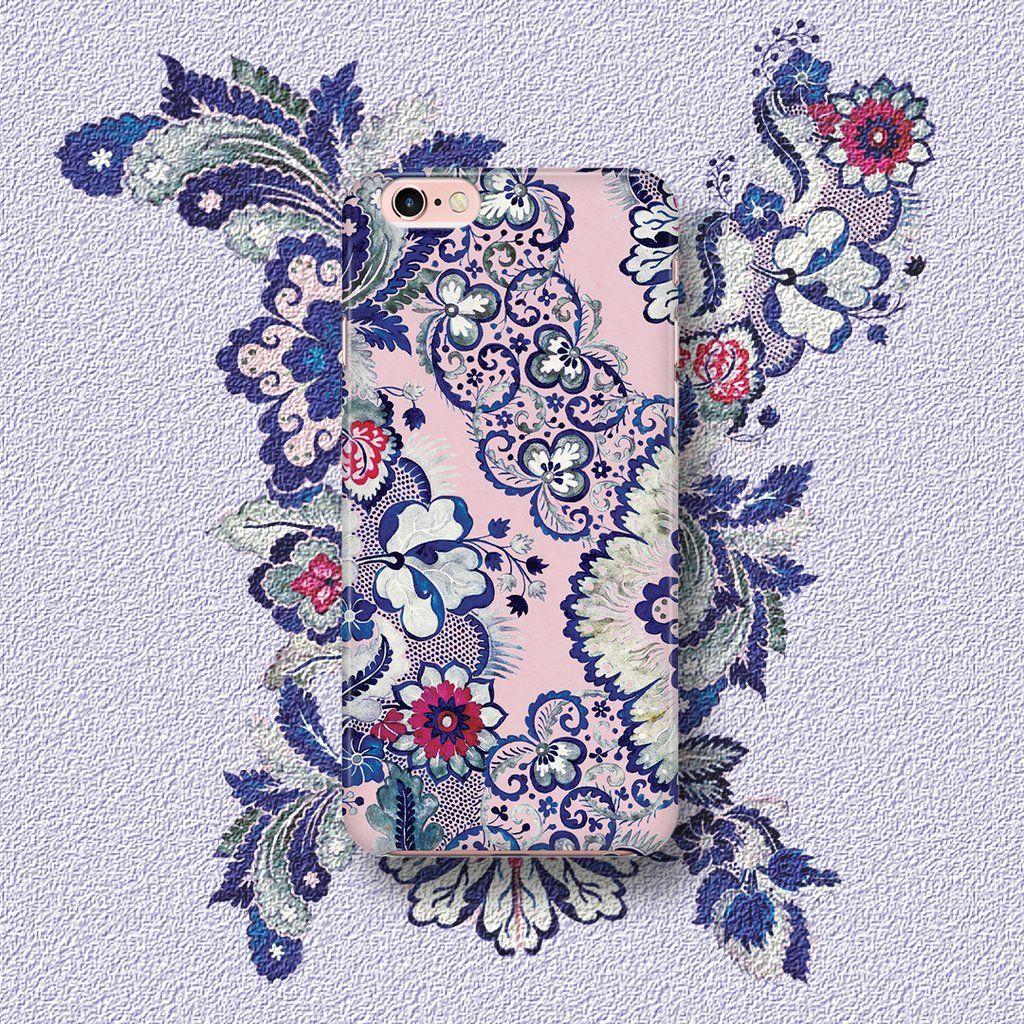 Indigo Blush Samsung Galaxy S8 Plus Floral iphone