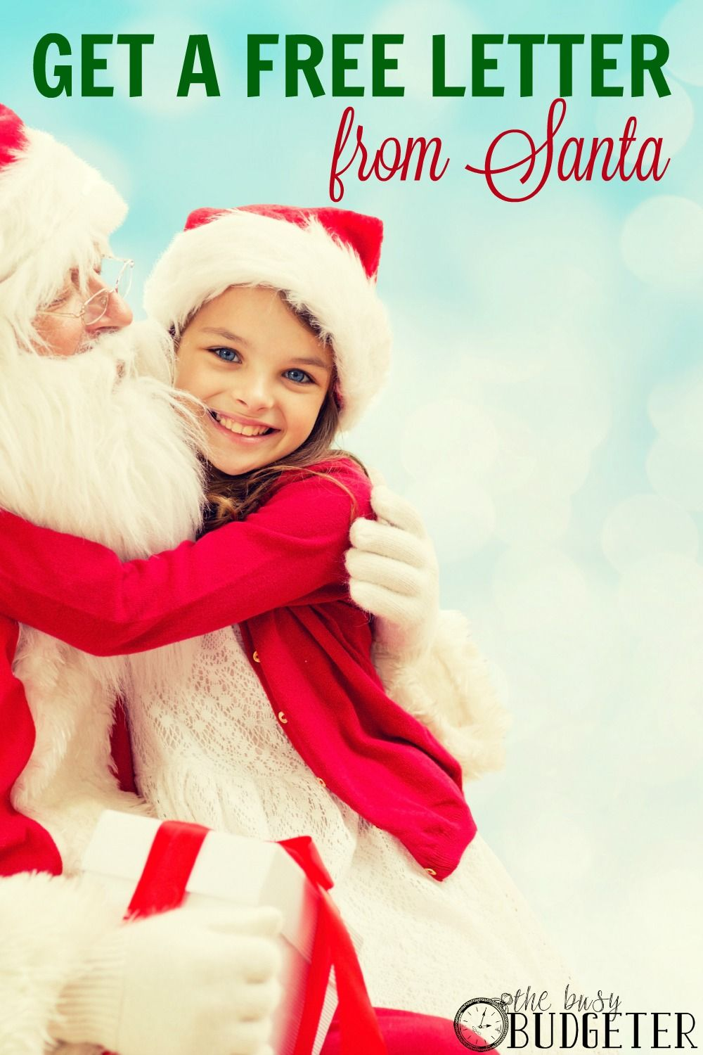 Get A Free Letter From Santa