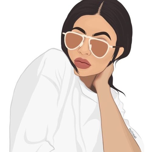 Fashion Kylie Jenner And Love Image Kylie Jenner Drawing