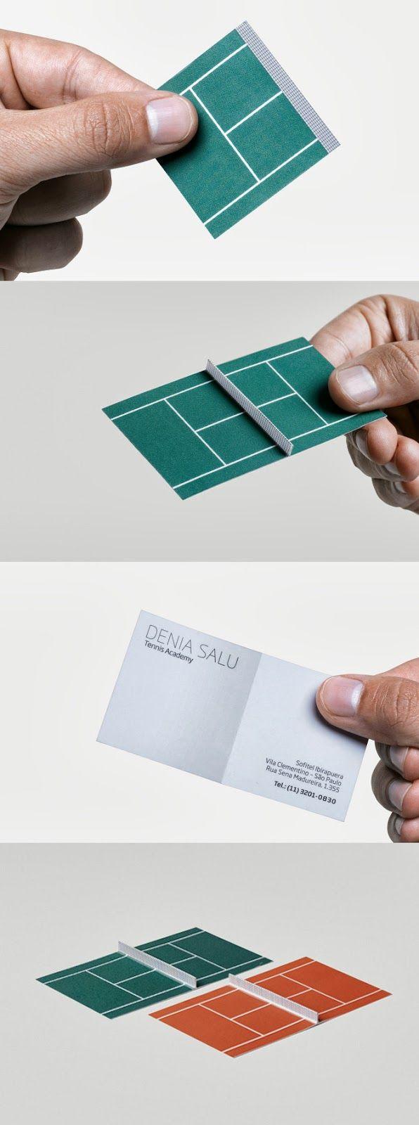 Ame Design - amenidades do Design . blog: Cartão para tenista