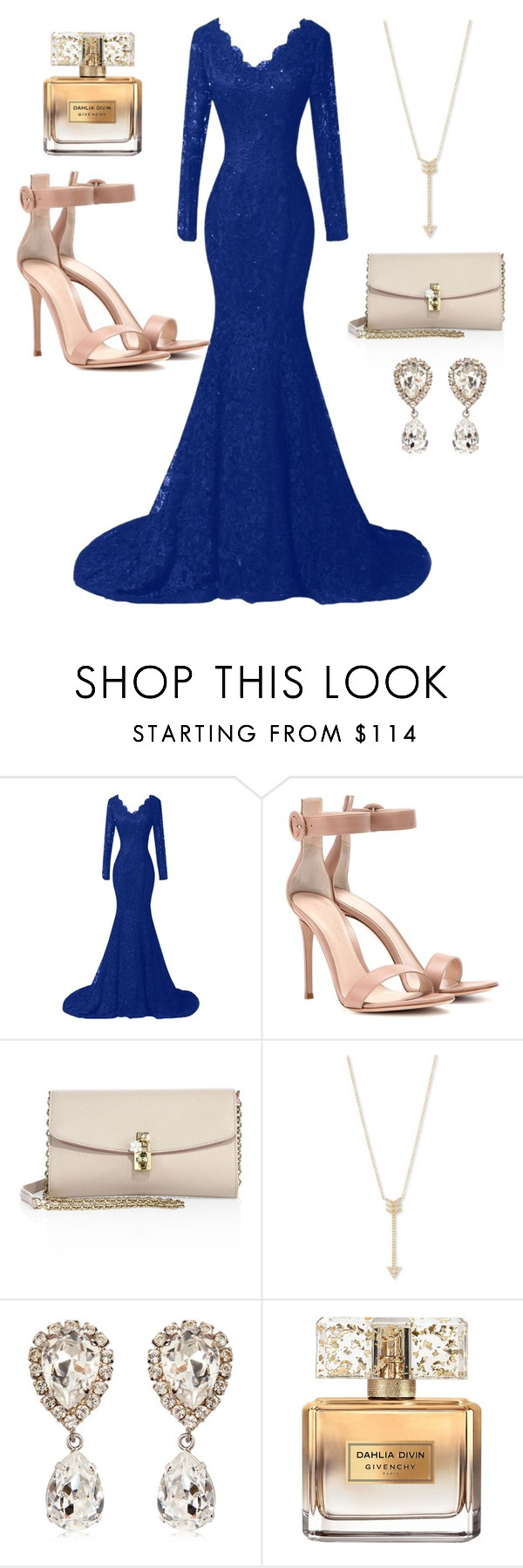 """Untitled #555"" by vane-25 ❤ liked on Polyvore featuring Gianvito Rossi, Dolce&Gabbana, EF Collection and Givenchy"